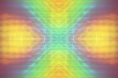 De abstracte digitale kleur van de achtergrond veelkleurige symmetrieflits stock illustratie
