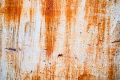 De abstracte donkere versleten roestige achtergrond van de metaaltextuur Stock Afbeeldingen