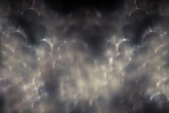 De abstracte donkere witte rokerige achtergrond van vlokkensquama Stock Afbeelding
