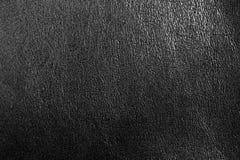 De abstracte donkergrijze textuur van het luxeleer voor achtergrond Royalty-vrije Stock Foto