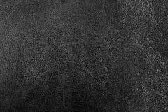 De abstracte donkergrijze textuur van het luxeleer voor achtergrond Stock Foto