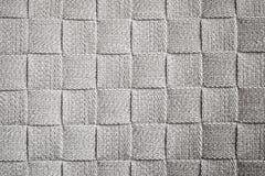 De abstracte donkergrijze textuur van het stoffenpatroon Stock Afbeelding