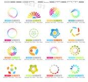 De abstracte Elementen van het Ontwerp - Reeks 1 Stock Afbeelding