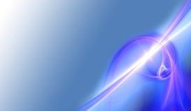 De abstracte Energie van het Plasma Stock Foto