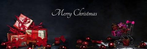De abstracte foto van Black Friday Gelukkige Vrolijke Kerstmis Royalty-vrije Stock Afbeeldingen