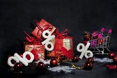 De abstracte foto van Black Friday Gelukkige Vrolijke Kerstmis Stock Foto