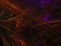 De abstracte fractal kleuren digitale achtergrondmalplaatjevakantie produceerde creatieve bannertoekomst vector illustratie