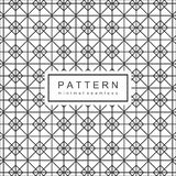 De abstracte Geomatric-Achtergrond van het Lijnpatroon royalty-vrije illustratie