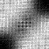 De abstracte geometrische halftone achtergrond van het puntpatroon - zwart-wit vector grafisch ontwerp stock illustratie
