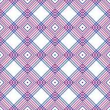 De abstracte geometrische van de ruitenelementen van patroon Multicolored gevoerde vierkanten achtergrond eps10 vector illustratie