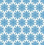 De abstracte geometrische Winter van het het kristal naadloze patroon van de textuursneeuw royalty-vrije illustratie