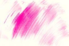 De abstracte geschilderde achtergrond van de waterverfborstel slagen Textuurpa Royalty-vrije Stock Afbeeldingen