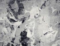 De abstracte geweven collage van Grunge Stock Afbeeldingen