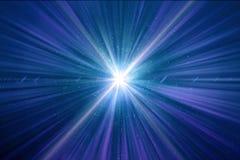De abstracte Glanzende Lichte Achtergrond van Tijdwormhole royalty-vrije illustratie