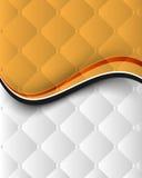 De abstracte golfelementen, verchromen naadloos patroon Stock Afbeelding