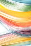 De abstracte grens isoleerde zachte golvenachtergrond Royalty-vrije Stock Afbeelding