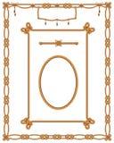 De Abstracte grens van de kabel Royalty-vrije Stock Afbeelding