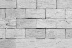 De abstracte grijze betegelde achtergrond van de muurtextuur Stock Afbeelding