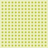 De abstracte groene achtergrond van het kubuspatroon Kader, vectorafbeeldingenillustratie vector illustratie