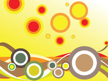 De abstracte herfst Stock Fotografie