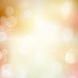 De abstracte herfst van de bokeh onscherpe lichte punt, dalingsachtergrond Stock Foto's