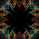 De abstracte Illustratie van de Grens Stock Foto