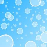 De abstracte illustratie van de waterbel Royalty-vrije Stock Afbeelding