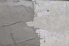 De abstracte kleefstof van de de muurbouw van de pleistergipspleister Royalty-vrije Stock Foto