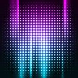 De abstracte kleurrijke achtergrond van de discoclub Stock Fotografie