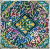 De abstracte kleurrijke achtergrond van de mozaïektextuur Royalty-vrije Stock Fotografie