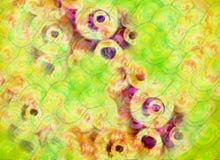 De abstracte kleurrijke achtergrond van de groetkaart vector illustratie