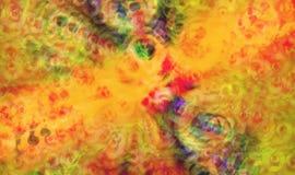 De abstracte kleurrijke achtergrond van de groetkaart royalty-vrije illustratie