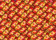 De abstracte kleurrijke achtergrond van de groetkaart stock illustratie