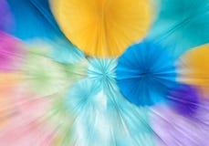 De abstracte kleurrijke achtergrond van het gezoemonduidelijke beeld Royalty-vrije Stock Afbeelding