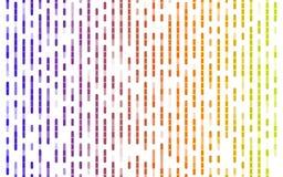 De abstracte kleurrijke achtergrond van het lijnenpatroon op wit stock fotografie