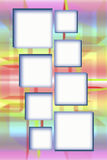 Abstracte banner Stock Foto's