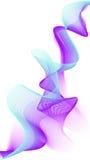 De abstracte kleurrijke creatieve achtergrond van de golflijn stock illustratie