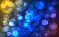 De abstracte kleurrijke regenboog defocused bookeh textuur Royalty-vrije Stock Foto's