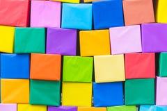 De abstracte Kleurrijke regenboog nam bloemdocument achtergrond toe Royalty-vrije Stock Afbeeldingen