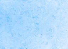 De abstracte lichtblauwe achtergrond van de kleurentextuur Stock Foto