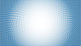 De abstracte lichtblauwe cirkel vervormt van de achtergrond patroonstijl ontwerp Stock Foto's