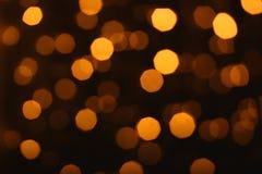 De abstracte lichte achtergrond van Bokeh Stock Afbeelding