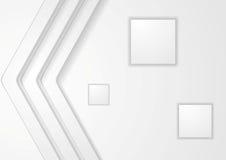 De abstracte lichte achtergrond van technologie Stock Afbeeldingen