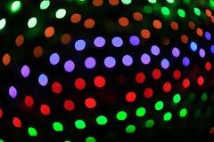 de abstracte lichten van bokehkerstmis Stock Fotografie
