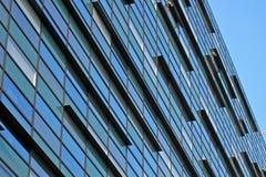 De abstracte moderne bouw Royalty-vrije Stock Afbeelding