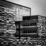 De abstracte moderne bouw Stock Fotografie