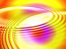 De abstracte multicoloured achtergrond van aantrekkingskrachtrimpelingen. Royalty-vrije Stock Foto