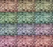 De abstracte multy achtergrond van het kleurenglas. Stock Fotografie