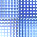 De abstracte Naadloze geplaatste patronen van plaidbuffels stock illustratie
