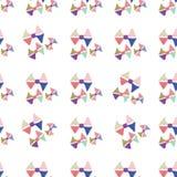De abstracte naadloze hand trekt patroonboog Stock Foto's